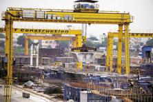 L&T has so far invested around <span class='WebRupee'>Rs.</span>850 crore on the Hyderabad Metro rail project. Photo: AFP