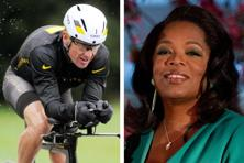 (Files) Lance Armstrong (left) and Oprah Winfrey. After more than a decade of denying that he doped to win the Tour de France seven times, Armstrong confessed on the Oprah Winfrey show last night. AP