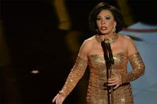 Nobody could have been better than Shirley Bassey to lead the tribute to 50 years of James Bond. Photo: Robyn Beck/AFP