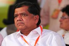 Karnataka chief minister Jagadish Shettar said the results were along expected lines and no inference should be made for the upcoming assembly elections. Photo: Ramesh Pathania/Mint
