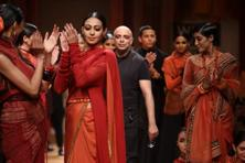 Tarun Tahiliani showed his Kumbhack collection at WIFW.