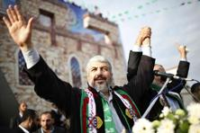A file photo of Hamas chief Khaled Meshaal. Photo: Ahmed Jadallah/Reuters
