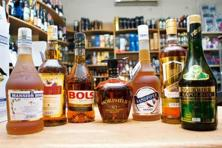 Brandy options at a store in Bangalore. Photo: Aniruddha Chowdhury/Mint.