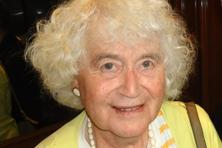 A file photo of author Jan Morris. Photo: Bloomberg
