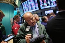 A file photo of traders on the floor of the New York Stock Exchange. Photo: Getty Images/AFP