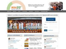 "The website launched by the BJP on Wednesday said it will ""aggregate top news and political content"", helping it to ""crowdsource ideas and solutions"" in the run-up to the 2014 general election."