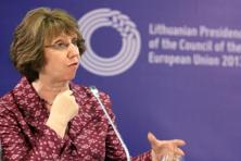 EU's foreign policy chief Catherine Ashton. Photo: Tomas Luksys/AFP