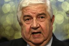 A file photo of Syrian foreign minister Walid al-Moualem. Photo: Reuters