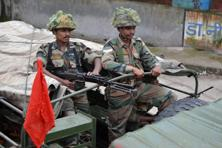 Curfew on Tuesday remained in force in riot-hit areas of Muzaffarnagar with the army patrolling troubled places. Photo: AFP