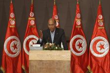 Tunisia's President Moncef Marzouki speaks during the national conference for dialogue, which aims to pave the way for the formation of a transitional government, in Tunis on 5 October. Photo: Zoubeir Souissi/Reuters