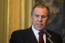 Russian foreign minister Sergei Lavrov. Photo: AFP