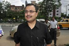 Kunal Ghosh made the comments in a videotape leaked to the media on Tuesday and first telecast by 24 Ghanta—a Bengali news channel run by the Zee Group. Photo: Indranil Bhoumik/Mint