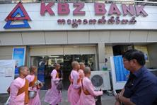 Deputy manager of Myanmar's biggest private bank Kanbawza Bank Ltd said that domestic banks would benefit by learning about corporate investment from the international banks. Photo: AFP