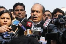 AAP leader Prashant Bhushan accepted the notice and strongly opposed the earlier submissions of the MHA that the party hasn't responded to queries on foreign funding. Photo: Hindustan Times