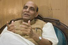 BJP president Rajnath Singh said Congress has not declared their prime ministerial candidate because it has already conceded defeat ahead of the Lok Sabha polls and were preparing for 2019 general elections. Photo: Mint