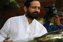Suresh Kalmadi was charged by a Delhi court in February last year with allegedly cheating, conspiring and causing a loss of over Rs90 crore to the exchequer as the chairman of the Commonwealth Games organizing committee. Photo: Hindustan Times