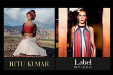 Ritu Kumar's fashion house has three distinct brands—Ri, a premium bridal and formal wear line, Ritu Kumar, a traditional pret brand offering ethnic daily and semiformal wear, and Label, a fashion pret line.