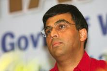 In the London Chess Classic in December, Viswanathan Anand was knocked out in the quarter-final, losing to Vladimir Kramnik of Russia after a series of unfortunate blunders with white pieces. Photo: HT