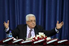 A file photo of Palestinian leader Mahmoud Abbas. Israeli leaders said Abbas could not be Israel's peace partner if he forged a partnership with Hamas. Photo: AFP