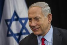 File photo of Benjamin Netanyahu. Israel froze US brokered peace talks with Palestine when the unity deal was announced on 23 April. Photo: Bloomberg