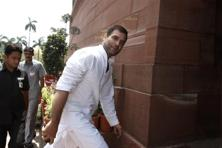 Rahul Gandhi now turns up in Parliament early and sits through the entire session for the day. Photo: Hindustan Times