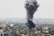 Israel said there had been two cross-border launches overnight that caused no damage, and that it had bombed 25 sites in Gaza. Photo: Reuters