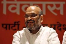 Known for his meticulous planning, BJP chief Amit Shah has had a minor setback when his party failed to win by-polls to three seats in Uttarakhand, which went to the Congress. Photo: Hindustan Times