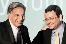 Ratan Tata with Cyrus Mistry. Less than two years into his term, Mistry is already looking to expand, with plans to invest $35 billion in the next three years even as the group looks at possible divestments and restructuring. Photo: AFP