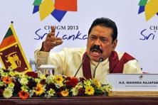A file photo of Sri Lankan President Mahinda Rajapaksa. Photo: AP