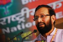 Prakash Javadekar said an alert system designed by the National Remote Sensing Agency would be utilized at the time of disasters like fire and floods. Photo: Pradeep Gaur/Mint