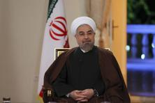 'We are not going back to where we were a year ago,' Iran's President Hassan Rouhani said on Monday night in an interview on state television. Photo: AP