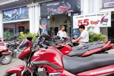 Two-wheeler sales in India rose 16.4% in six months ended 30 September, says Siam. Photo: Hemant Mishra/Mint