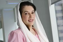 A file photo of former Pakistan premier Benazir Bhutto who was assassinated in 2007. Photo: Bloomberg