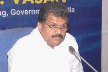 G.K. Vasan announced at a crowded press conference in Chennai on Monday that he and his supporters have decided to resign from the Congress.