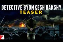 The teaser-trailer of Yash Raj Films's 'Detective Byomkesh Bakshy' indicates that Dibakar Banerjee is intent on making a lavish period film that recreates 1943 Calcutta, including the Japanese bombing of its port.