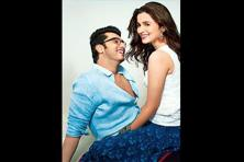 Arjun Kapoor and Alia Bhatt in 2 States.