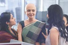 Dabur Vatika ad stands out