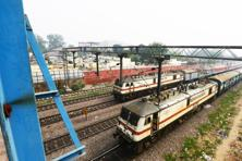 The government plans to expand the railways' fleet of rolling stock and modernize station infrastructure. Photo: Ramesh Pathania/Mint