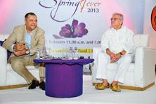 Gulzar (right) will recite from his latest book, 'Another 100 Lyrics', on 15 March