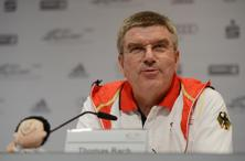 This will be Thomas Bach's first visit to India after becoming IOC president. Photo: Getty Images