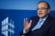 Speaking at the Peterson Institute for International Economics in Washington, Arun Jaitley emphasized that tax reforms are key to realize double-digit growth in India. Photo: AFP