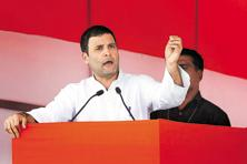 A file photo of Congress vice-president Rahul Gandhi. Photo: Ajay Aggarwal/HT