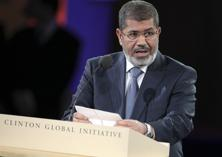 A file photo of former Egyptian President Mohamed Mursi. Photo: Bloomberg