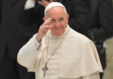Pope Francis backs scientists who say global warming is mostly man-made and developed countries have a particular responsibility to stem a trend that will hurt the poor the most. Photo: AFP