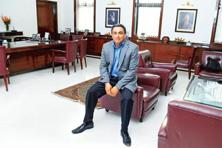 Narendran in his office. Photo: Indranil Bhoumik/Mint