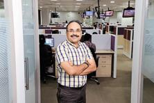 B.G. Mahesh founded Indiainfo.com, which shot into the limelight when Morgan Stanley in 2000 bought a 7.6% stake in it. Photo: Hemant Mishra/Mint