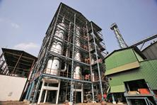 Distilling tanks at a Tilaknagar Industries distillery in Srirampur near Mumbai. The firm is the maker of the Mansion House brandy, which is at the centre of a marketing dispute. Photo: Reuters