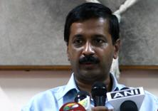 A file photo of Delhi chief minister Arvind Kejriwal. Photo: HT