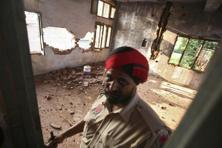 India pointed the finger at Pakistan for a strike on Monday that killed three civilians and four policemen in Punjab. That put security forces on alert elsewhere in India. Photo: Reuters