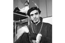 Alkazi as Mosca in Ben Jonson's Volpone, 1959. Photographs courtesy The Alkazi Foundation for the Arts
